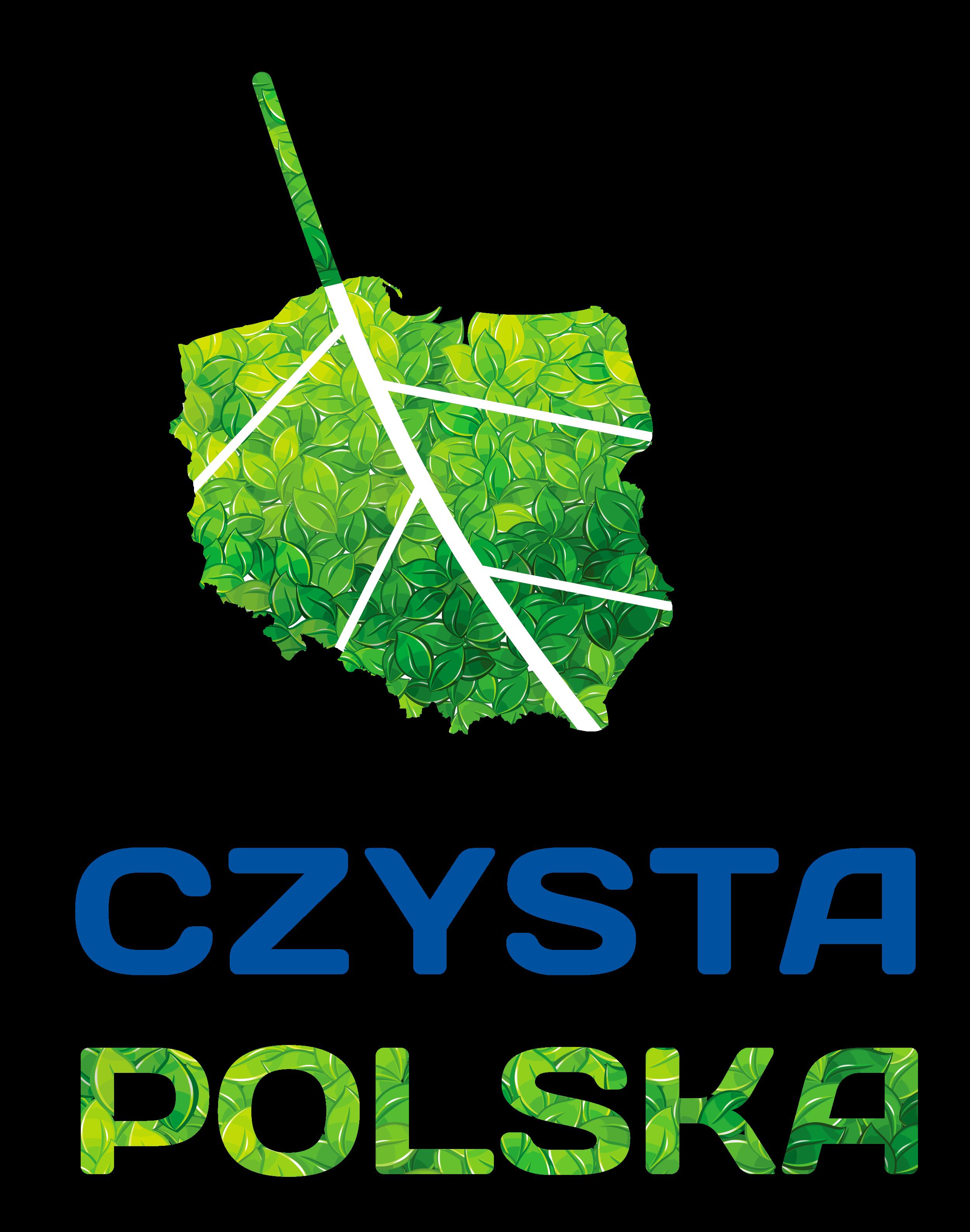 czysta polska logo pion